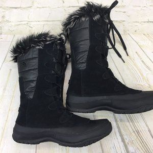 Women's THE NORT FACE Winter Boots Black Size 8.5